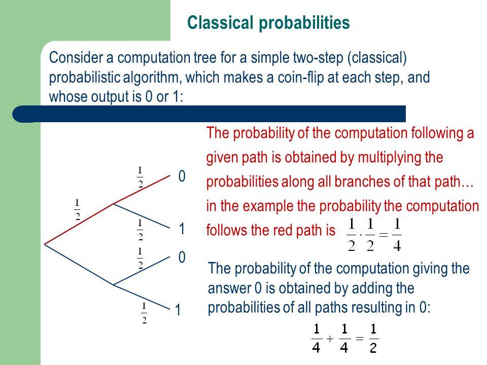Classical probabilities