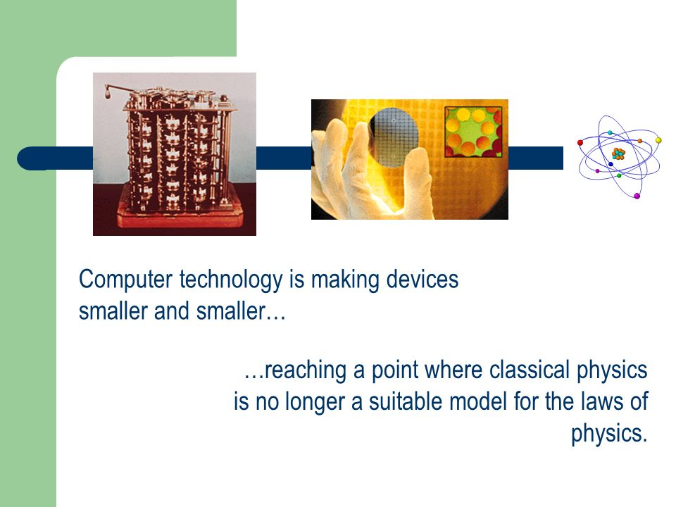 Computer technology is making devices smaller and smaller…