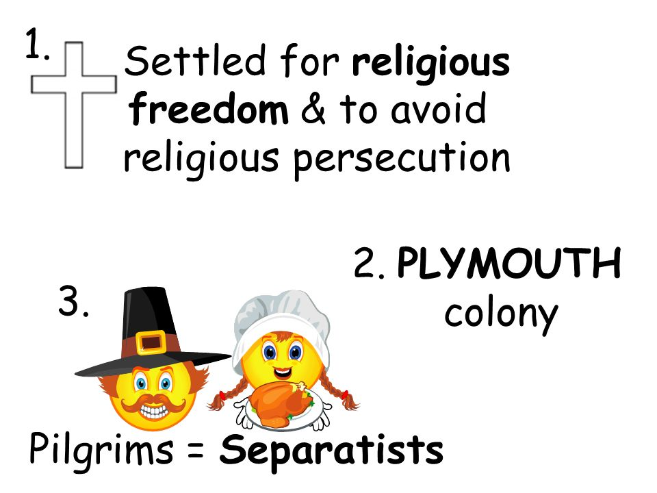 religious persecution drives colonists to north /r/all non-religious the largest group in britain, 71% of religious people non-practising,  the puritans wanted to get away from religious persecution,.