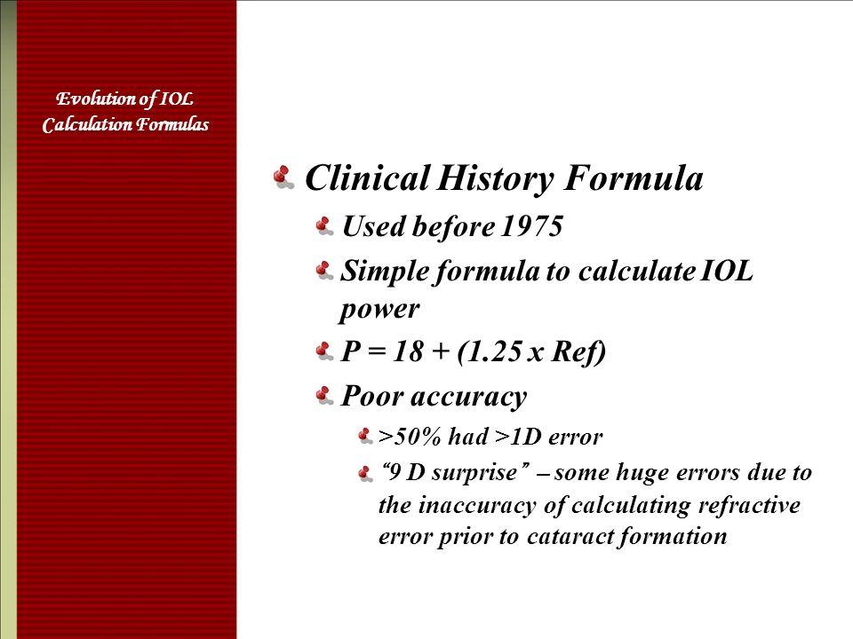 iol power calculation formulas pdf