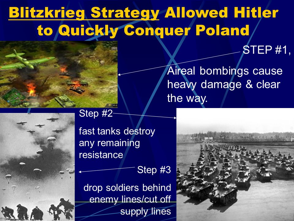 hitlers tactics What tactics and strategies did he use  the games that hitler played to win power hitler did not play a great many games he played a few games really well he .