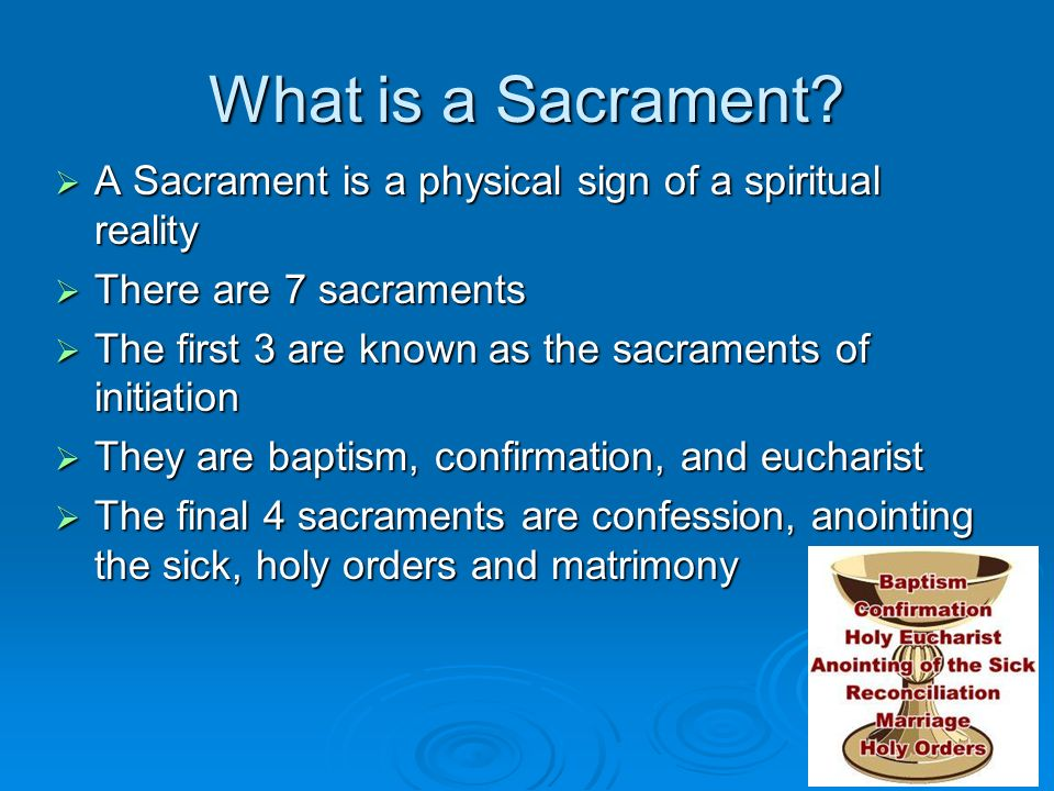 Roman Catholicism The 7 Sacraments. - ppt video online ...