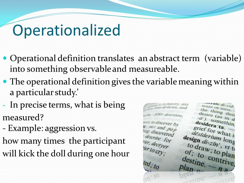 Operational Definition Term Paper Writing Service