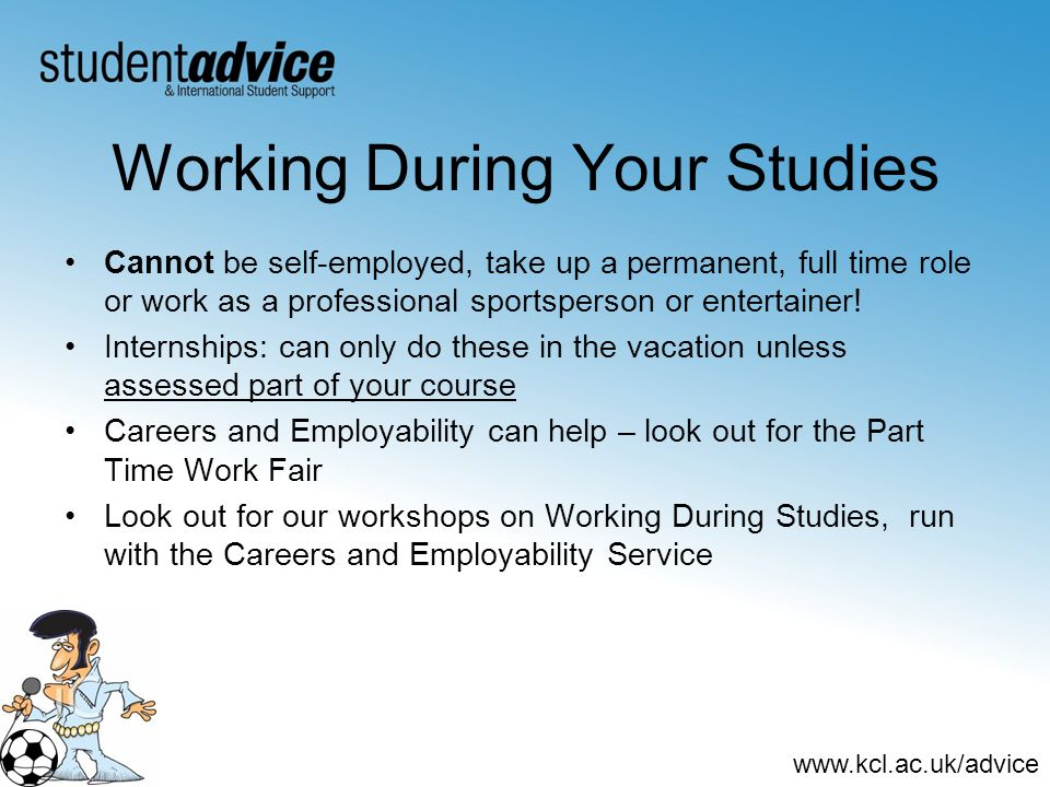 Working During Your Studies