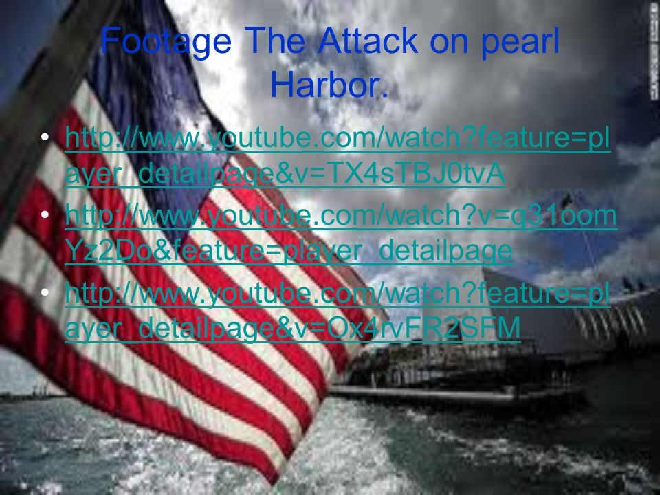 pearl harbor youtube