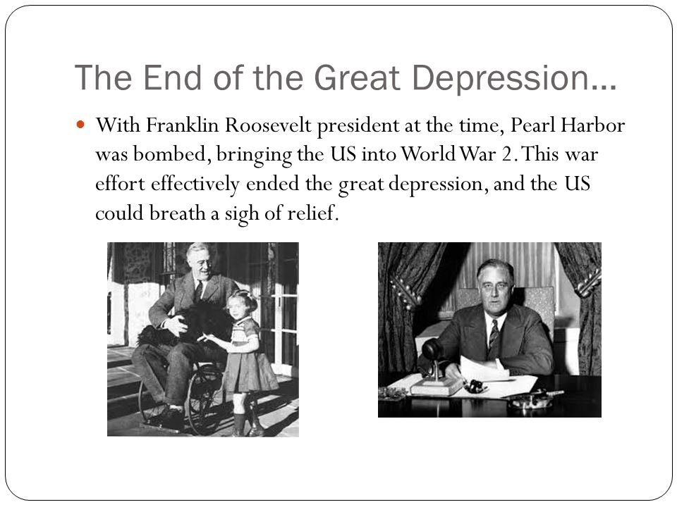 'by the end of the 1930s What was fdr's program to end the great depression  general theory was  not even published until 1936), total recovery did not result during the 1930s.