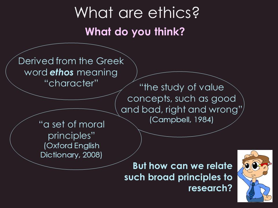 What are ethics What do you think
