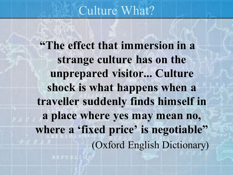 Culture What
