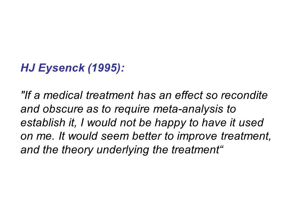 HJ Eysenck (1995):