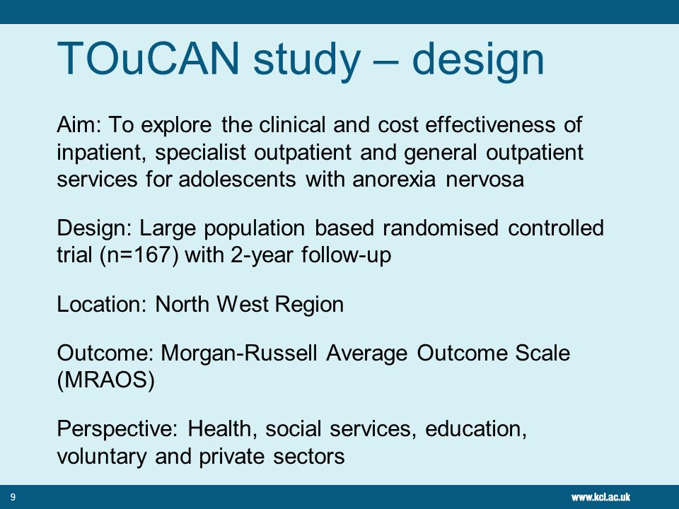 TOuCAN study – design