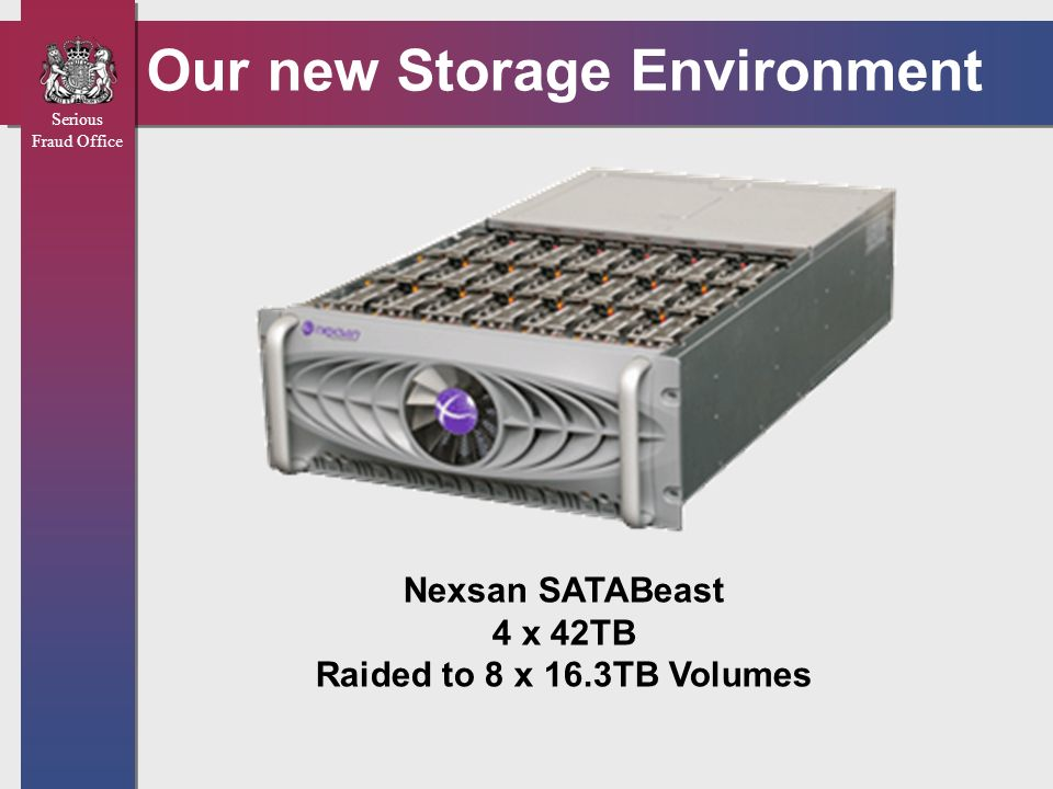 Our new Storage Environment