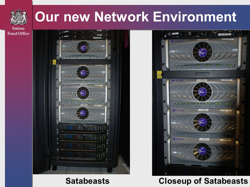 Our new Network Environment