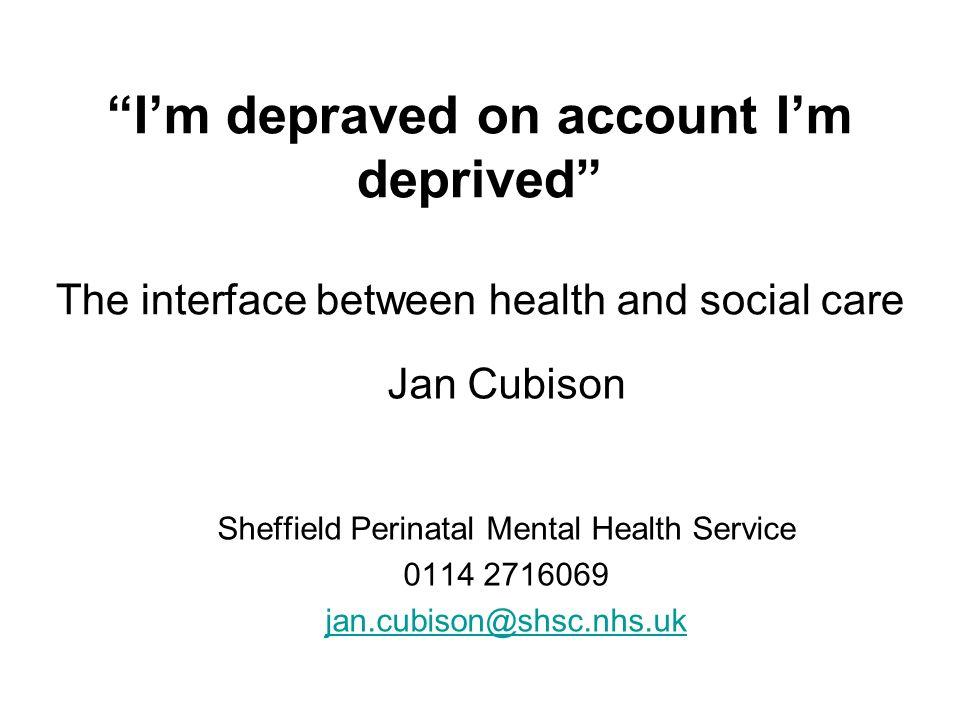 Sheffield Perinatal Mental Health Service