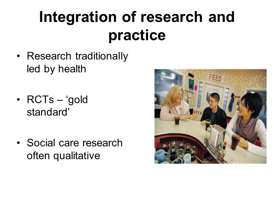 Integration of research and practice