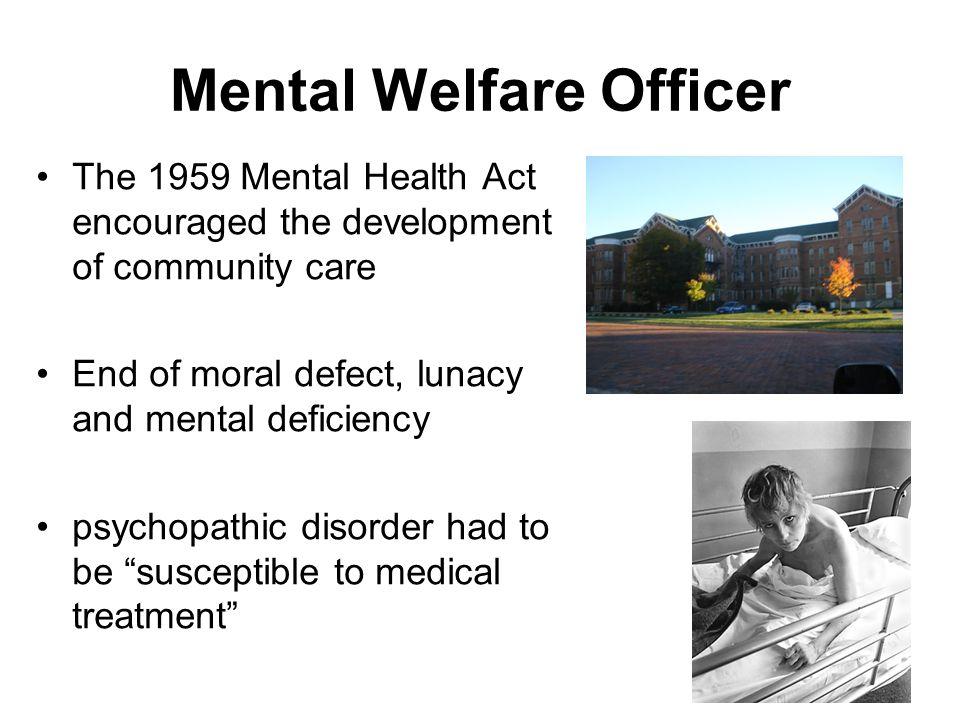 Mental Welfare Officer