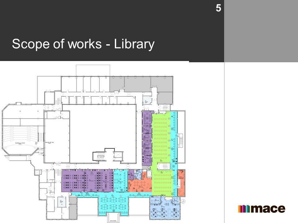 Scope of works - Library