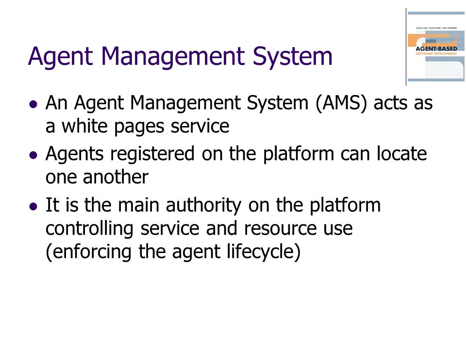 Agent Management System