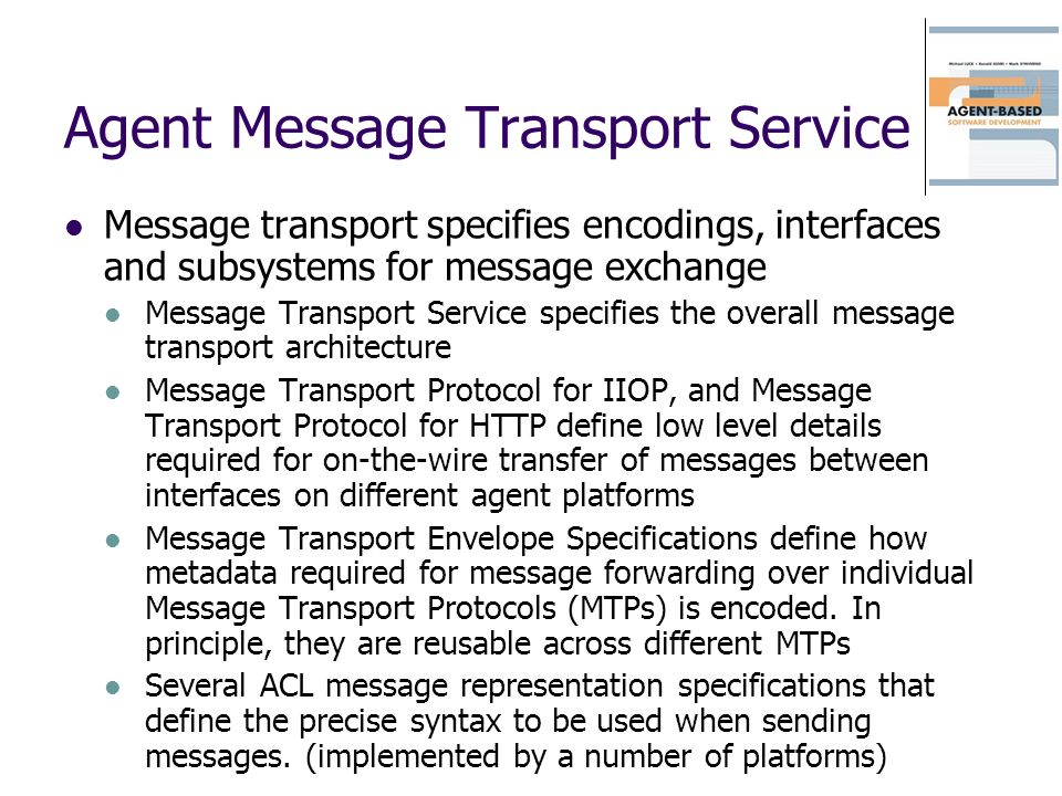 Agent Message Transport Service