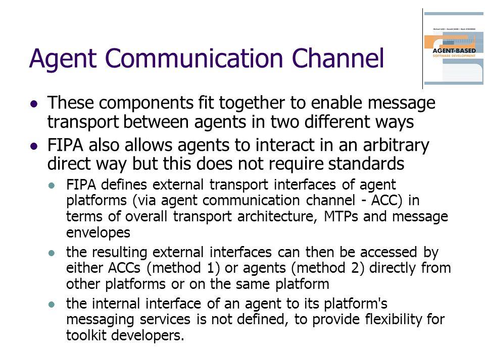 Agent Communication Channel