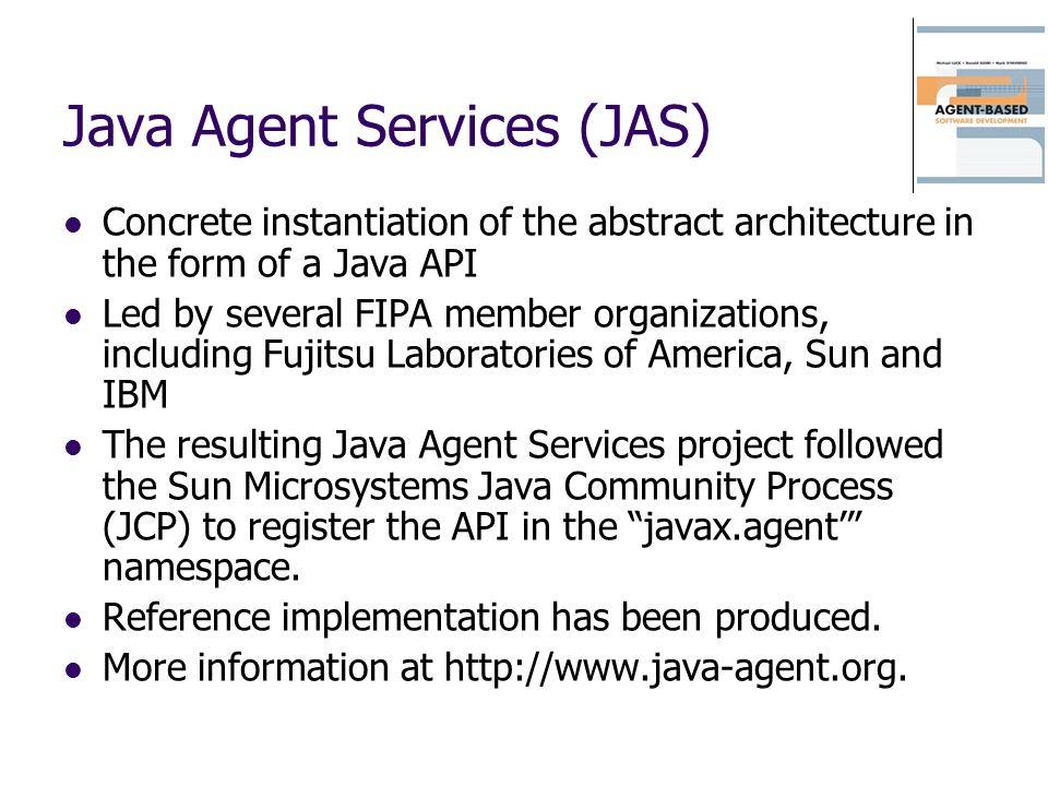 Java Agent Services (JAS)
