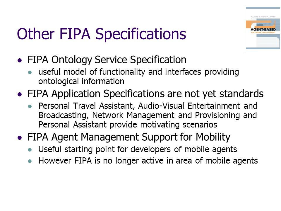 Other FIPA Specifications