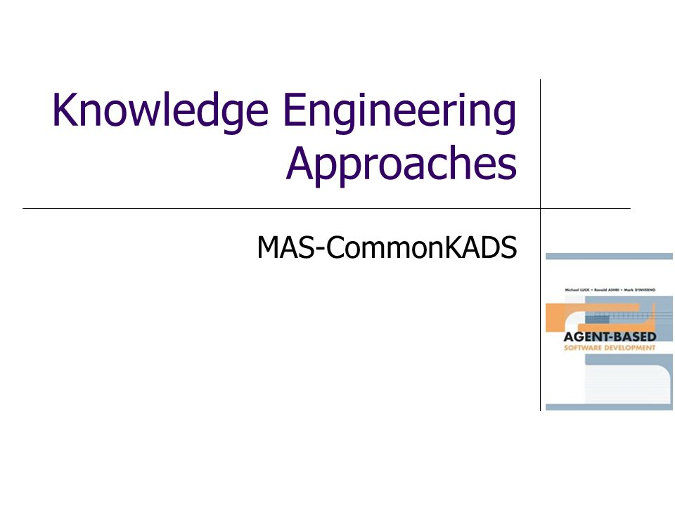 Knowledge Engineering Approaches