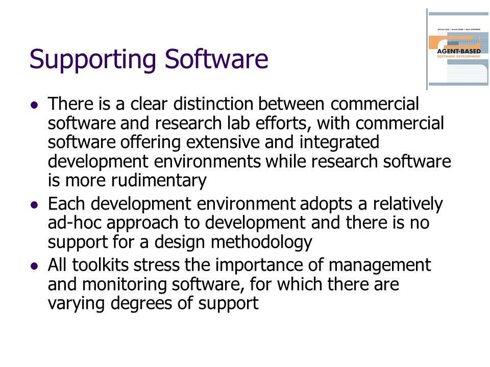 Supporting Software