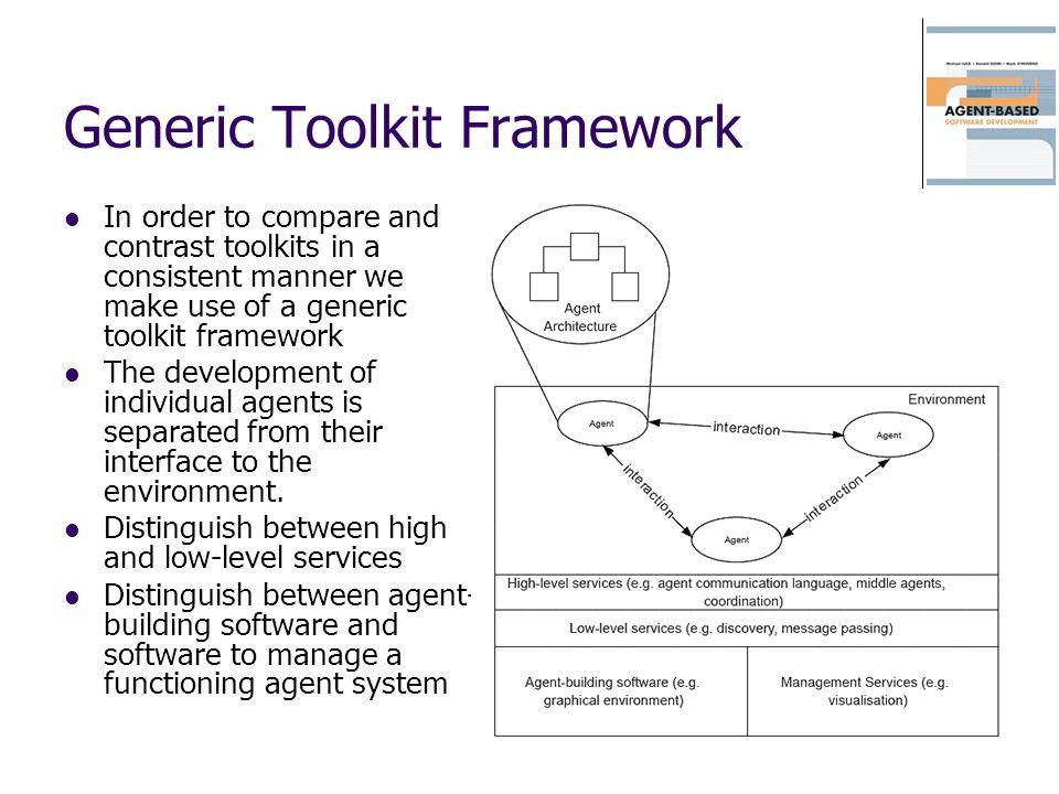 Generic Toolkit Framework