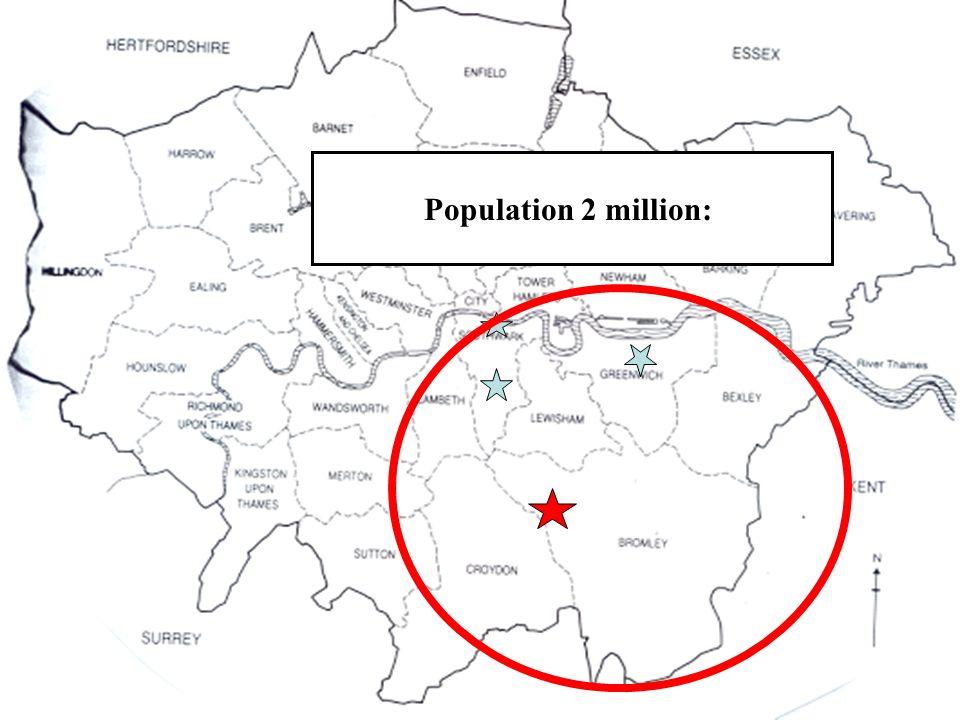 Population 2 million: