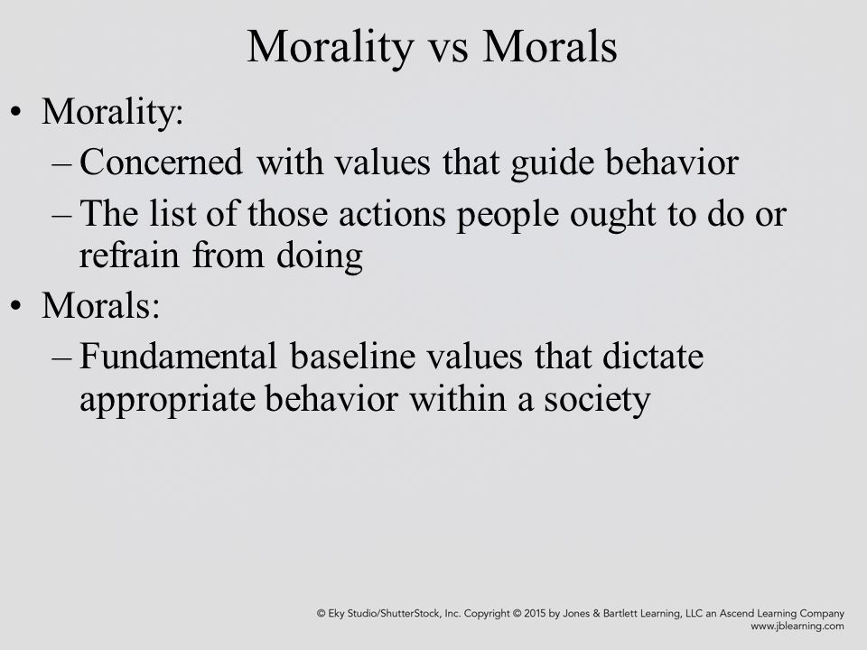 ethical vs morals What is the difference between morals and ethics learn how to use ethics and  morals with definitions and example sentences morality vs ethics.