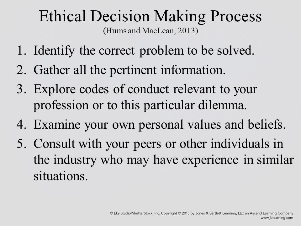 ethical decisions 3 essay Ethical challenges and dilemmas in organizations  tial impact of decisions is,  ethical challenges and dilemmas in organizations 3.