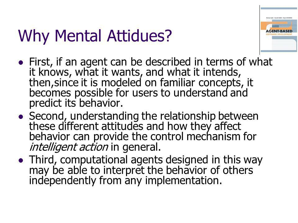 Why Mental Attidues