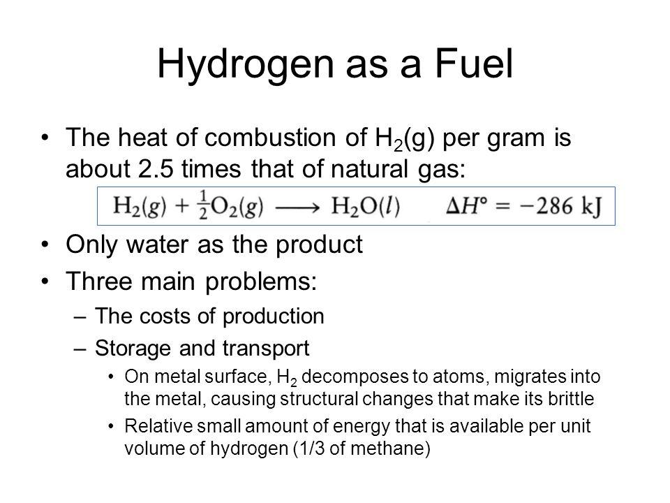 Energy Per Unit Volume Of Natural Gas