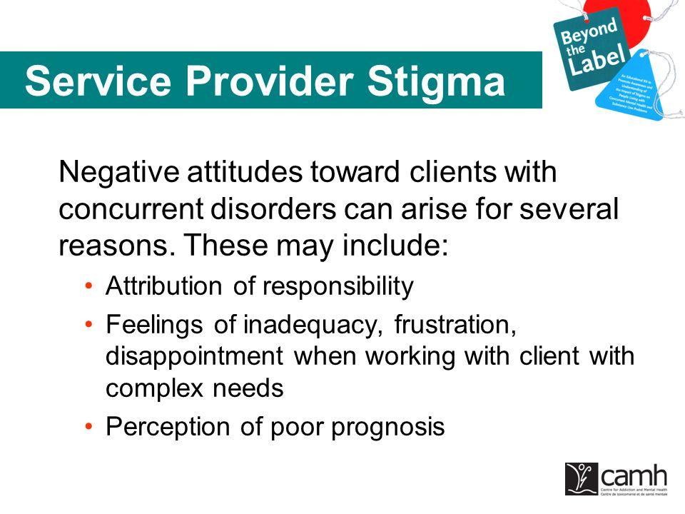Service Provider Stigma