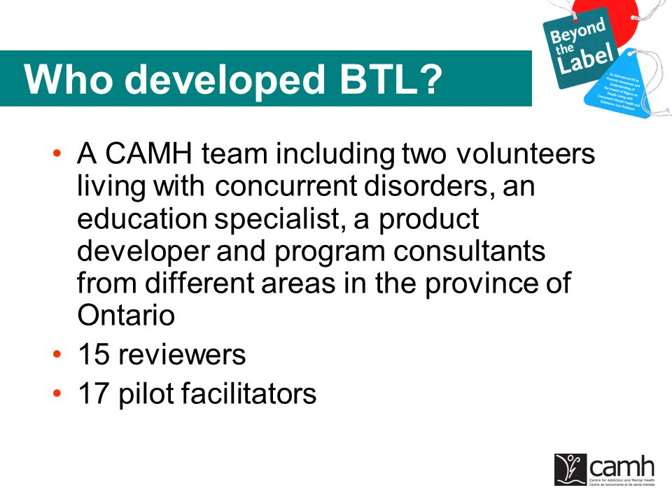 Who developed BTL