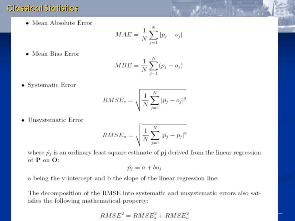 Classical Statistics 7