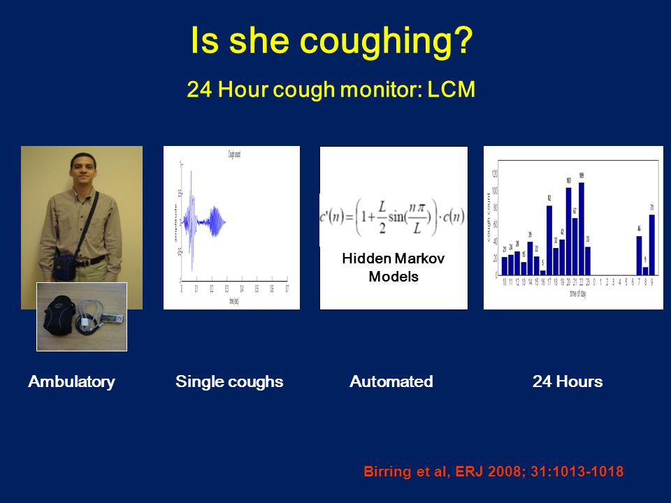24 Hour cough monitor: LCM