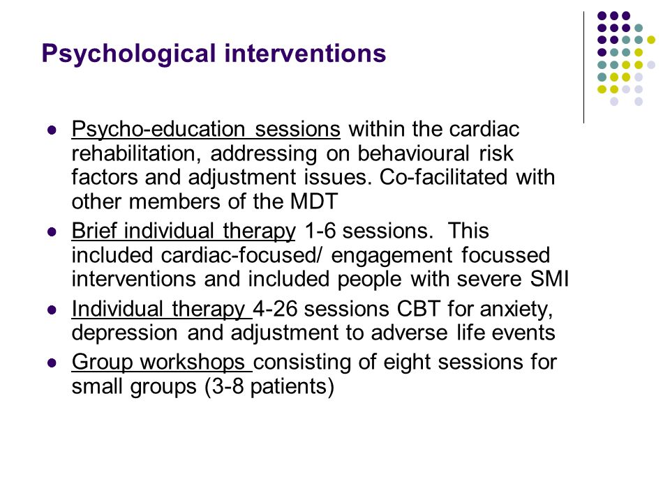 psychology of intervention