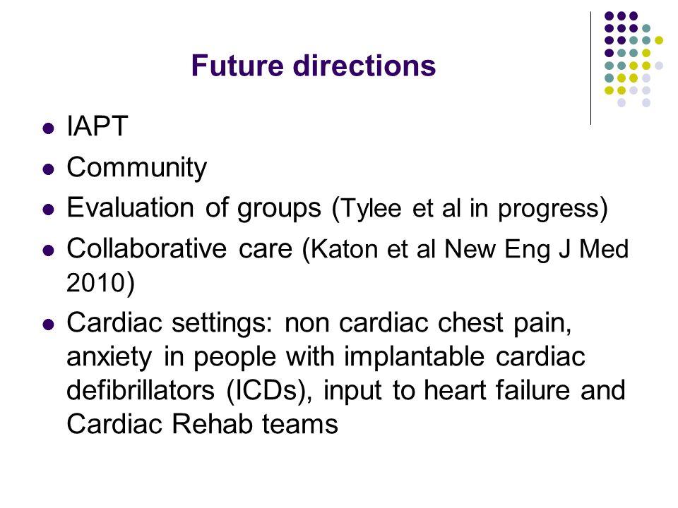 Future directions IAPT Community