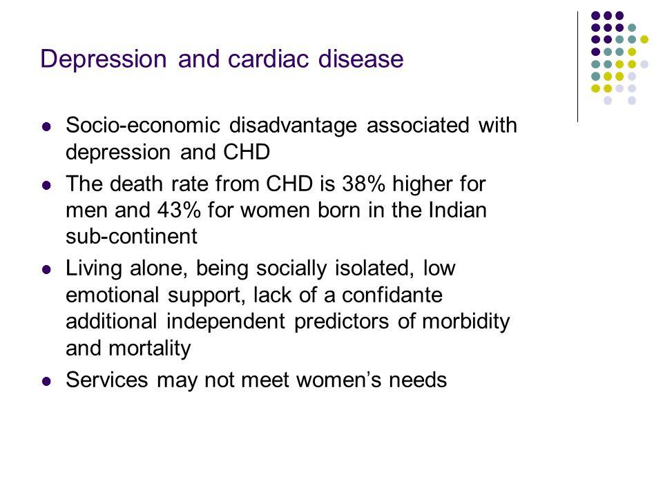 Depression and cardiac disease