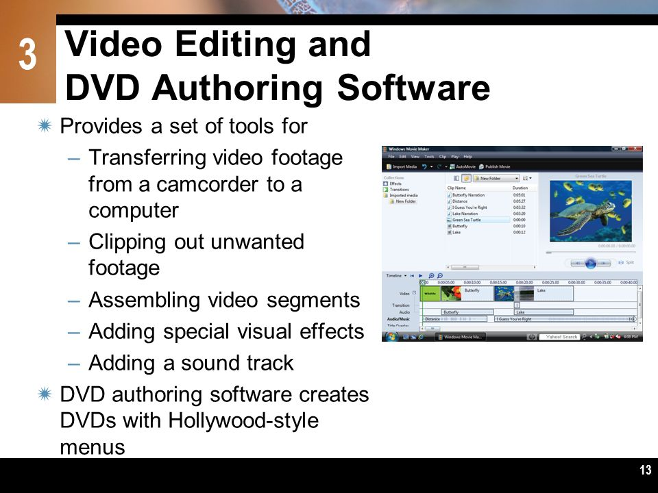 Video Editing and DVD Authoring Software