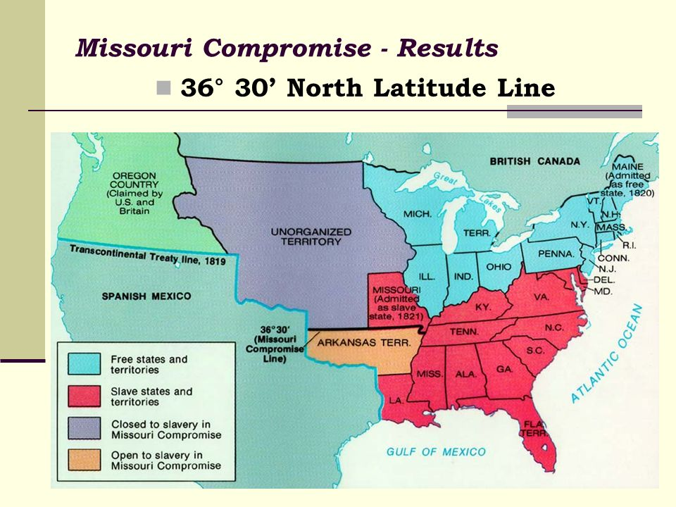 a history of the missouri compromise in united states federal statutes » history help leave a comment great the great compromise of the united states states then they would be powerless to prevent the federal government from.