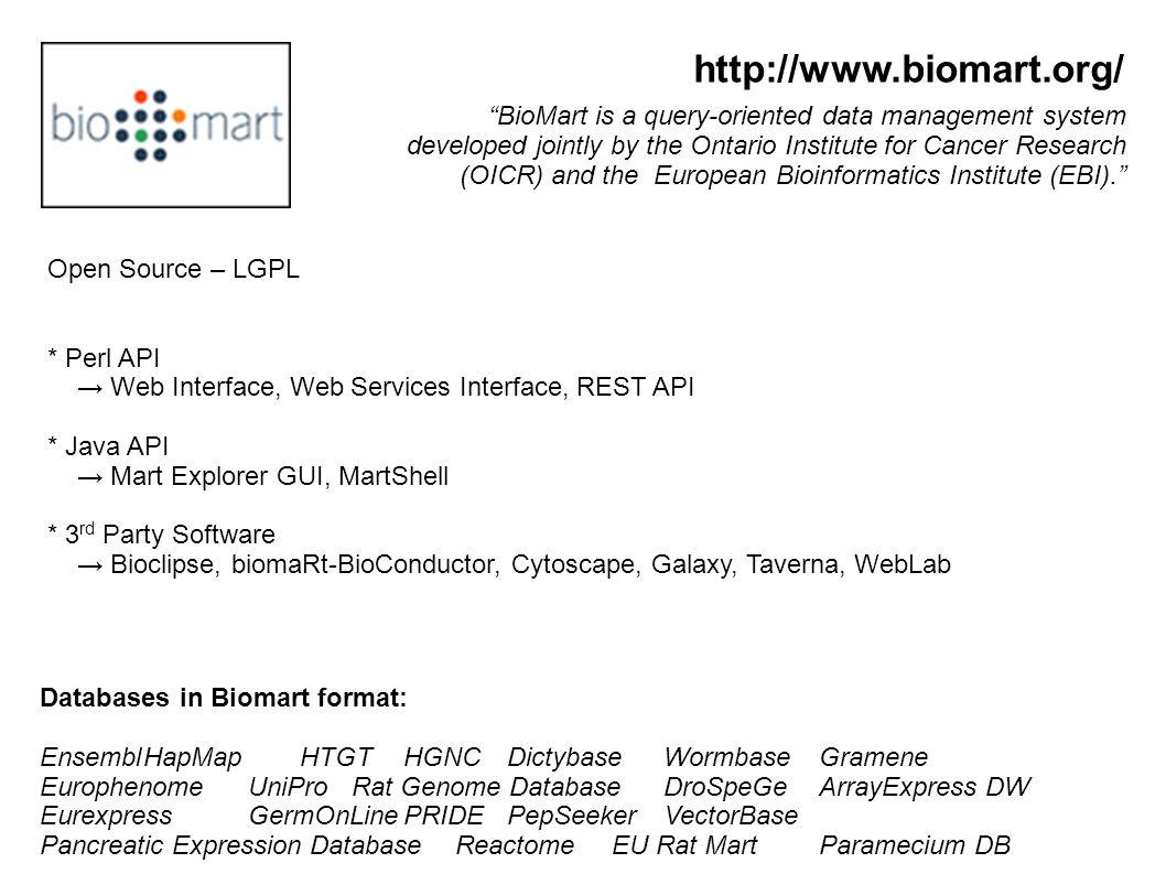 http://www.biomart.org/