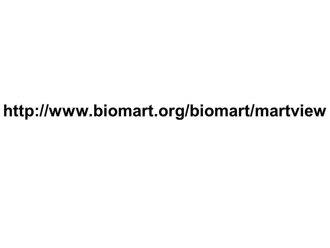 http://www.biomart.org/biomart/martview