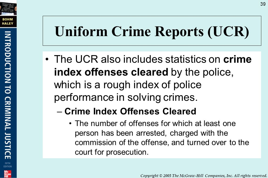 the uniform crime reporting system The rape definition change applies only to the traditional summary reporting  system in this table-building tool, rape statistics prior to 2013 have been  reported.