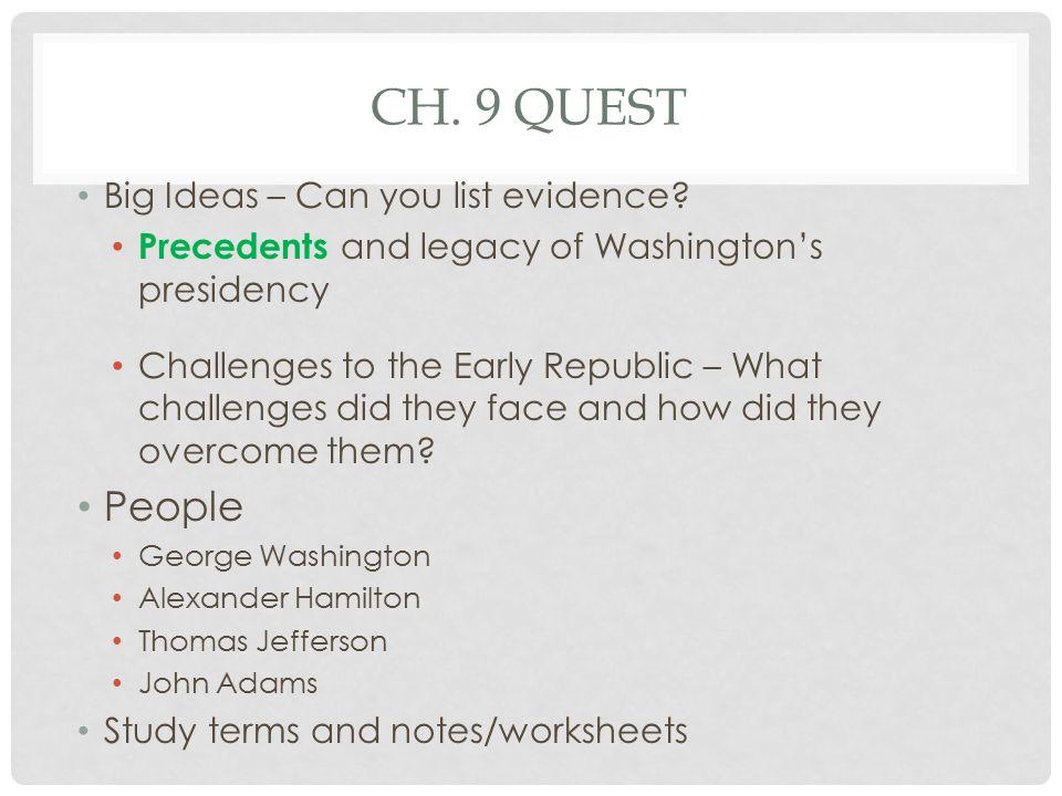 Washington to Adams ppt download – Thomas Jefferson Worksheets
