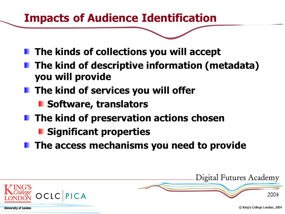 Impacts of Audience Identification