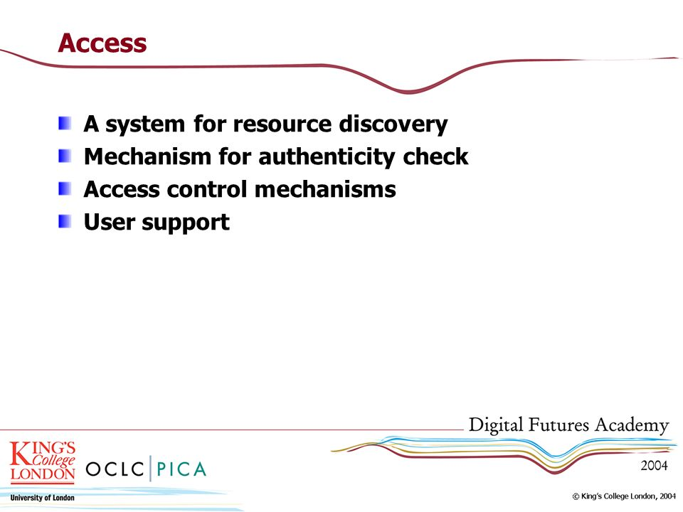 Access A system for resource discovery