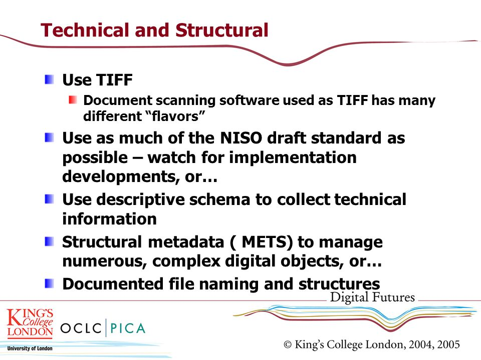 Technical and Structural