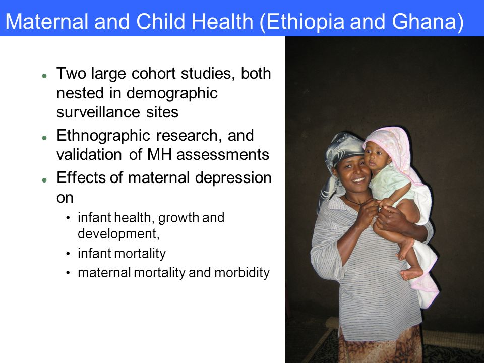Maternal and Child Health (Ethiopia and Ghana)